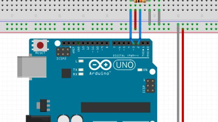 Arduinoでロータリーエンコーダー