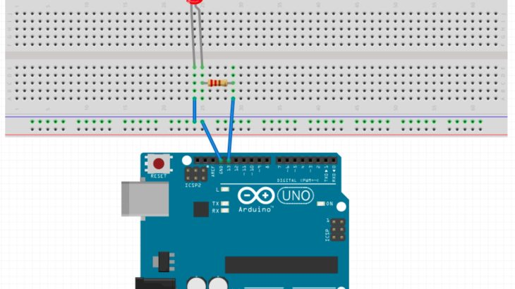 ArduinoでHello World