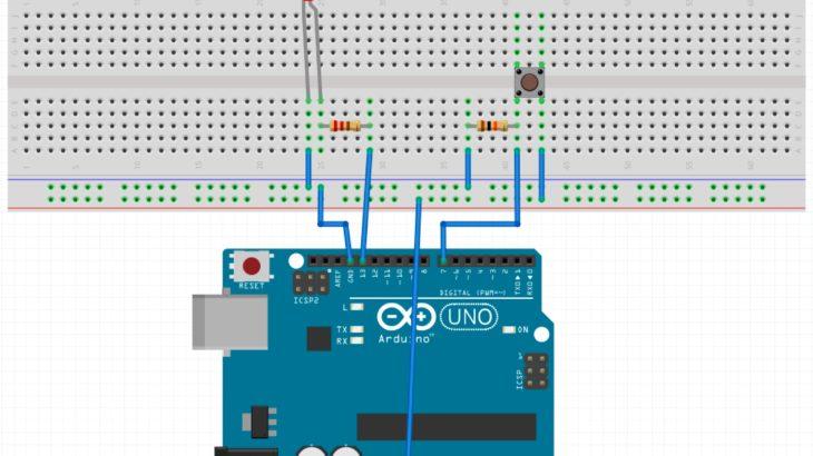 Arduinoでボタン入力