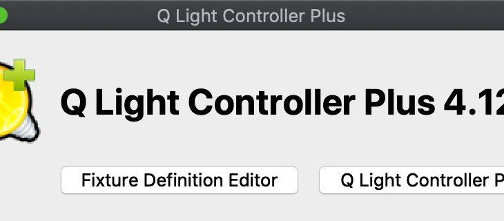 QLC+ で照明機材操作